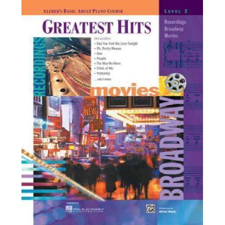 Alfred's Basic Adult Piano Course Greatest Hits, Bk 2 - image 1 de 1