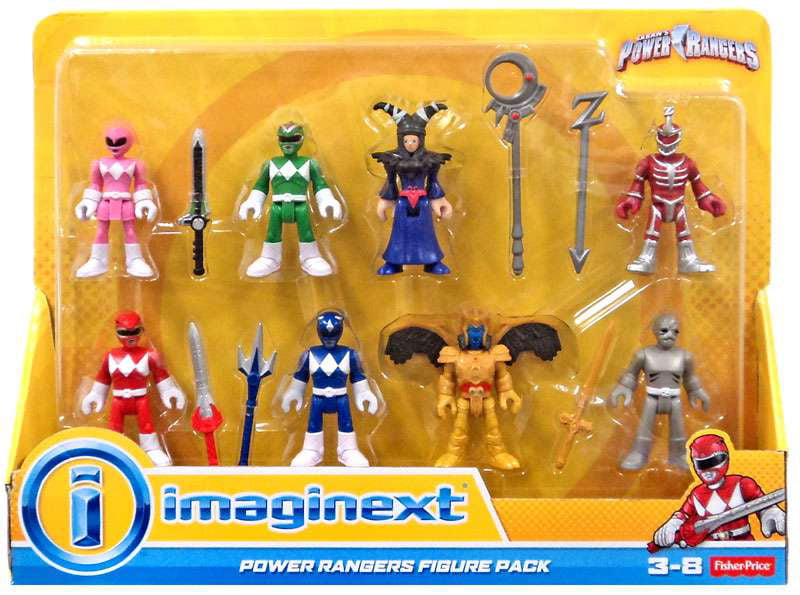 IMaginext Power Rangers Figure Pack by