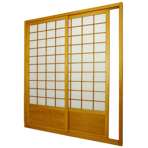 Oriental Furniture 83 x 735 Single Sided Sliding Door Shoji