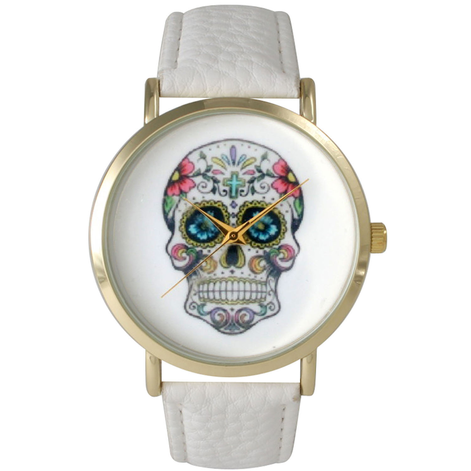 Women's Decorated Skull Watch