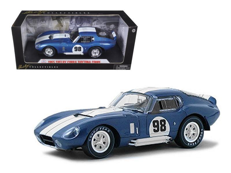 1965 Shelby Cobra Daytona Coupe Blue #98 1 18 Diecast Model Car by Shelby Collectibles by Shelby Collectibles