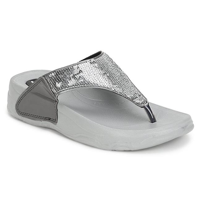 Creative Gifts International 013292 1 x 1 in. Peel & Press Flip Flop Icon, Silver Plated - image 1 de 1