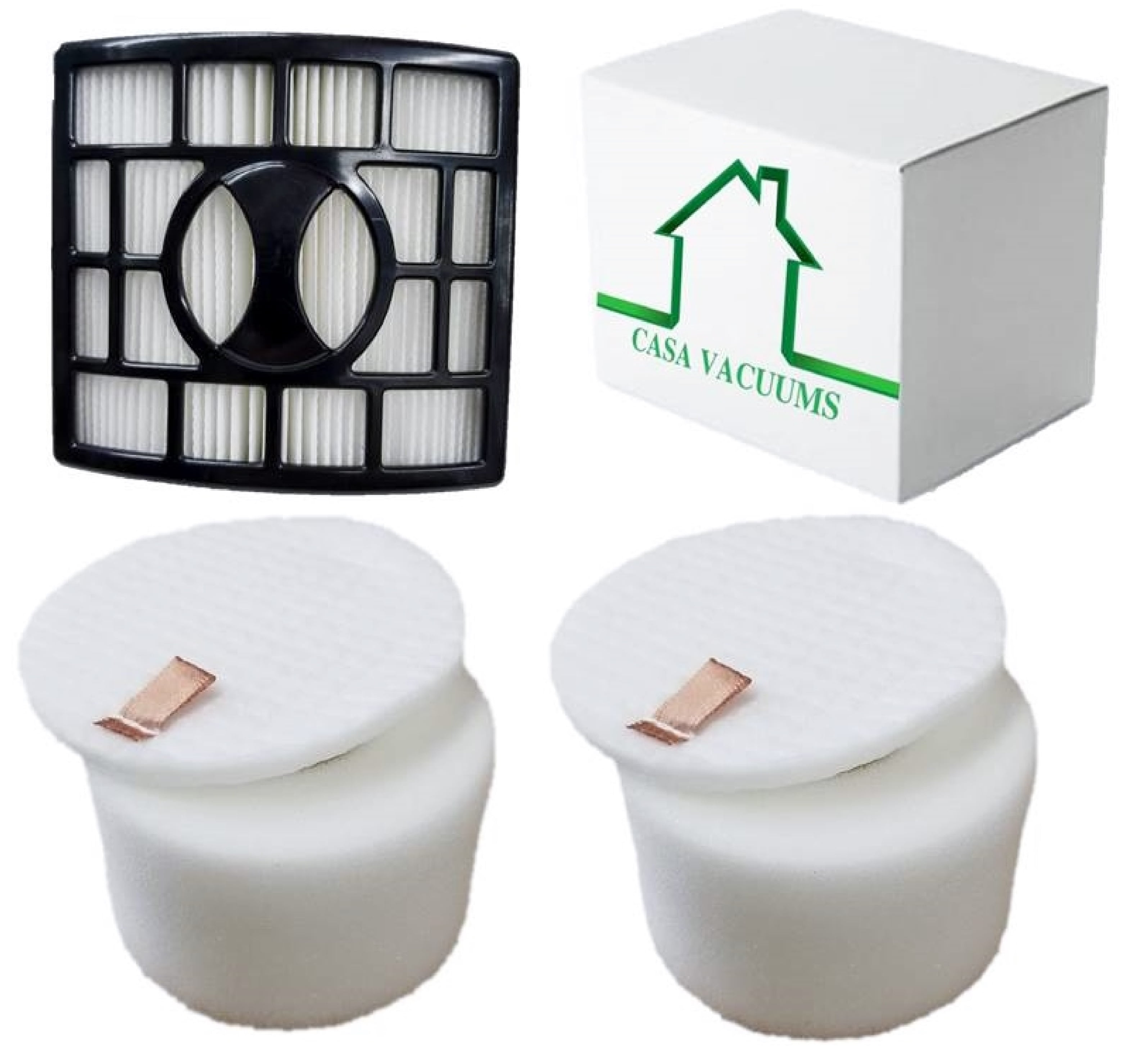 NV801 NV800 Part Numbers #XFF680 /& XHF680 NV682 Foam and Hepa Filter,Replacement Filter Set for Rotator Duo Clean Powered Lift Away Speed Vacuum NV680 NV803 UV810 NV681 NV683
