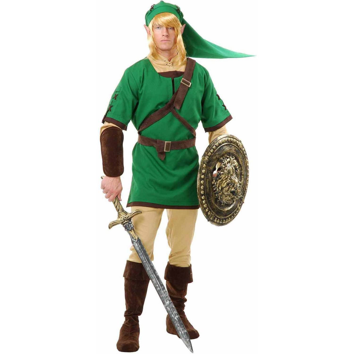 Elf Warrior Men's Adult Halloween Costume