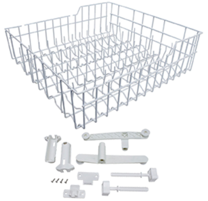 W10779821 Whirlpool Dishwasher Upper Rack Replacement