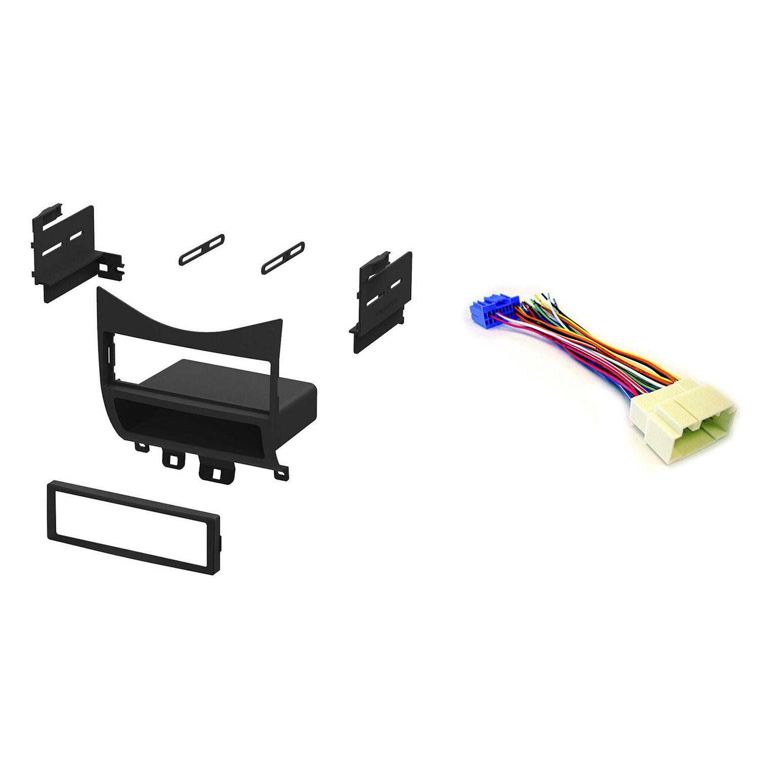 Honda Wiring Harness Kit Electrical Diagrams 19942002 Accord Curt T Connector 55336 Xscorpion 03 07 Car Stereo Mount Dash Xr650r