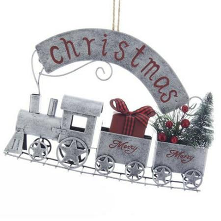 Christmas Train Ornament - Train Ornaments
