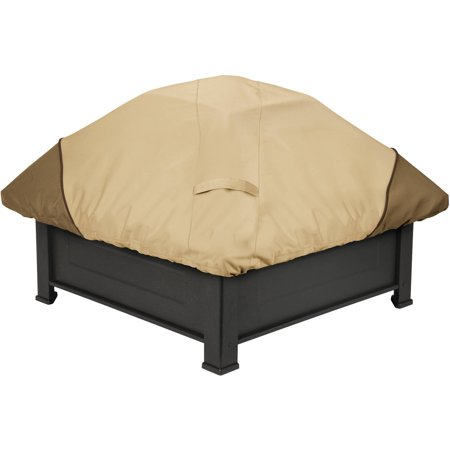 Classic Accessories Veranda Square Fire Pit Patio Storage Cover, fits up to 40