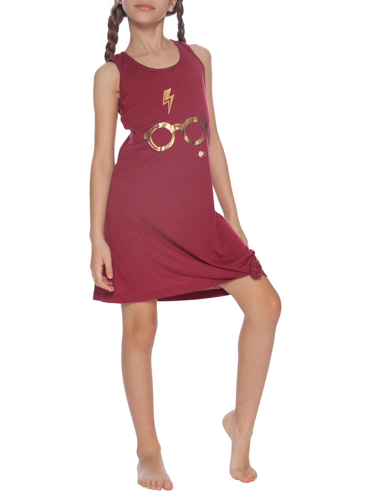 Girls 'Zapped Lightning and Glasses' Racerback Nightgown