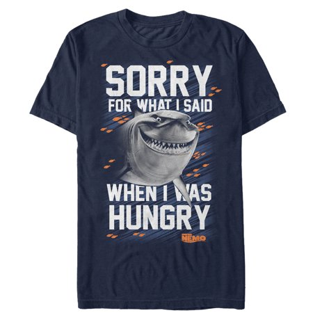 Finding Nemo Personalized - Finding Nemo Men's Bruce Sorry For Hangry T-Shirt
