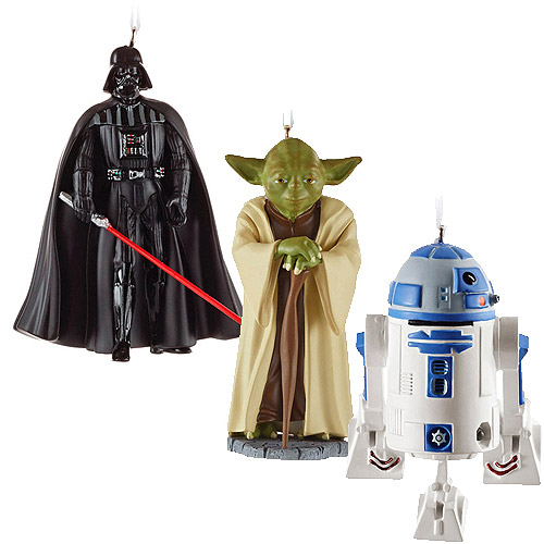 - Hallmark Starwars Set Of 3 Christmas Ornament Bundle - Walmart.com