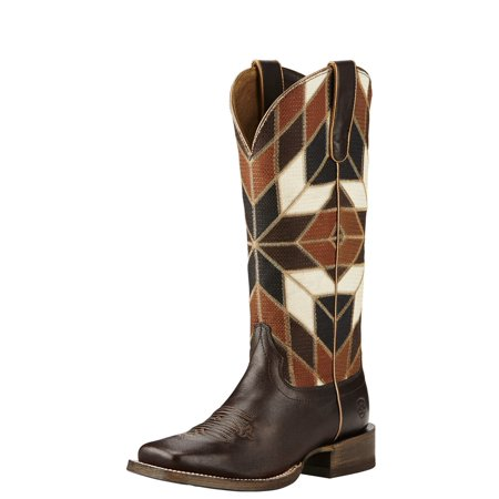Ariat Mirada   Square Toe Synthetic  Western Boot