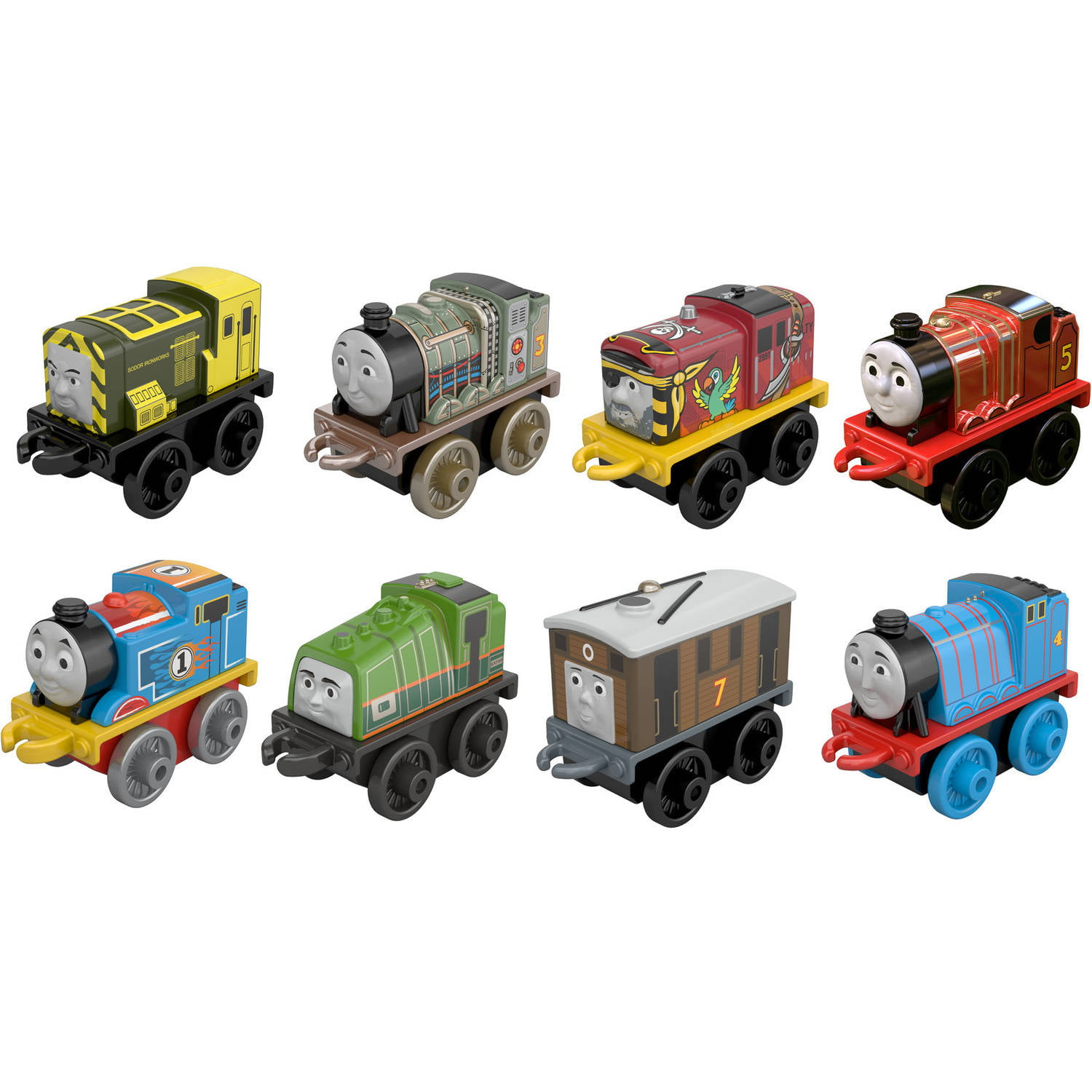 Thomas & Friends TrackMaster Thomas & Percy's Railway Race Set ...