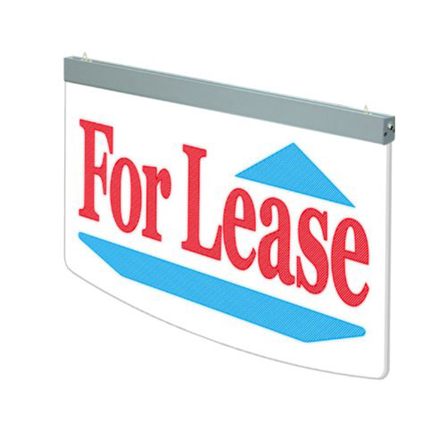 Actiontek Acrylic LED Sign, For Lease