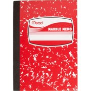 Mead Square Deal Memo Book Narrow Ruled 80 Sheets Assorted Colors (45417)