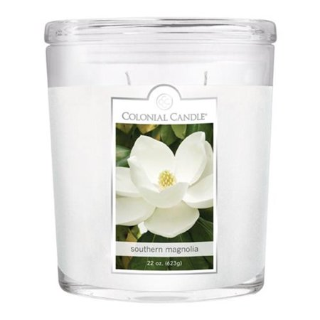 Fragranced in-line Container CC022. 2179 22oz. Oval Southern Magnolia Candles - Pack of 2