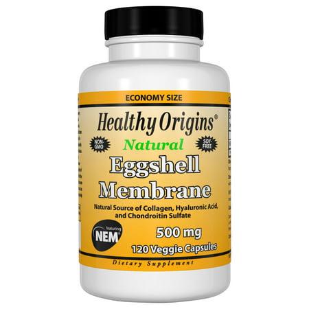 Eggshell Membrane 500 mg (NEM), 120 Veggie Capsules