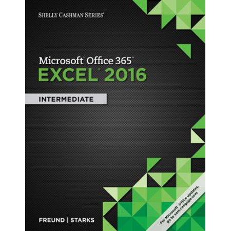 Shelly Cashman Microsoft Office 365 & Excel 2016: Intermediate Deal