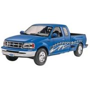 1997 Ford F-150 Xlt Truck 1/25 Scale Plastic Glue And Paint Model Kit