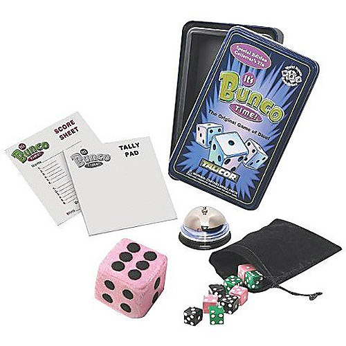 Talicor It's Bunco Time! Collector's Tin Game