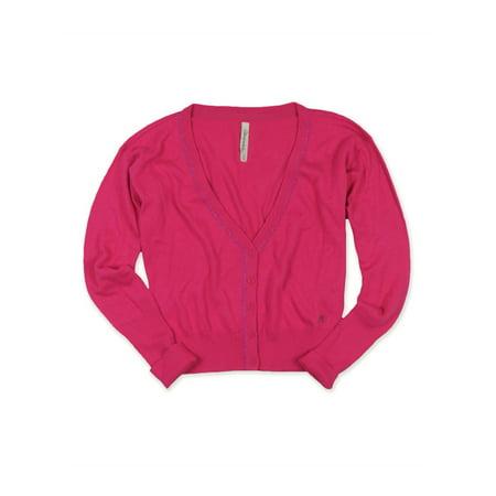 Aeropostale Juniors Aero A87 Cardigan Sweater