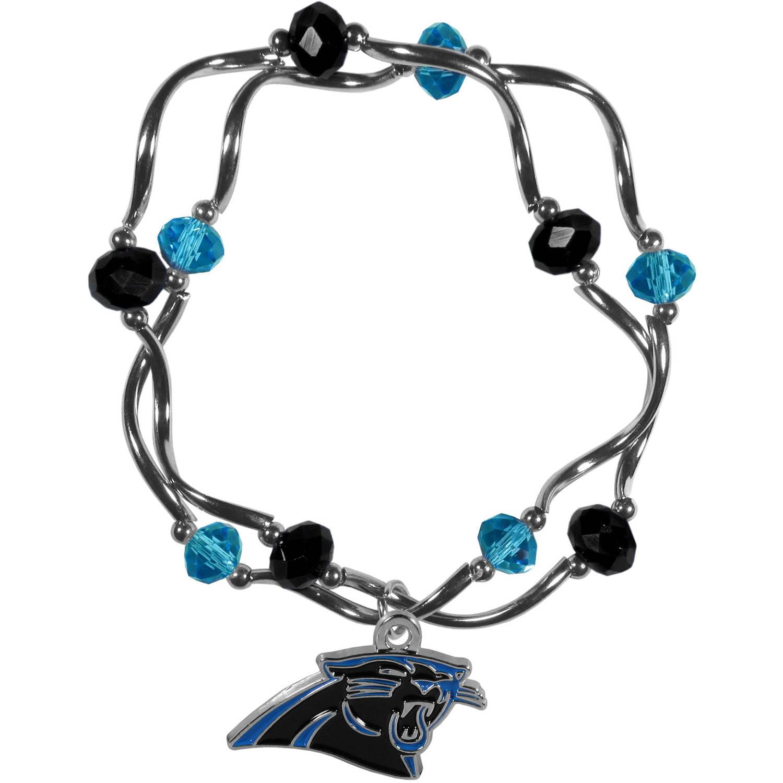 NFL Carolina Panthers Stretch Bead Bracelet