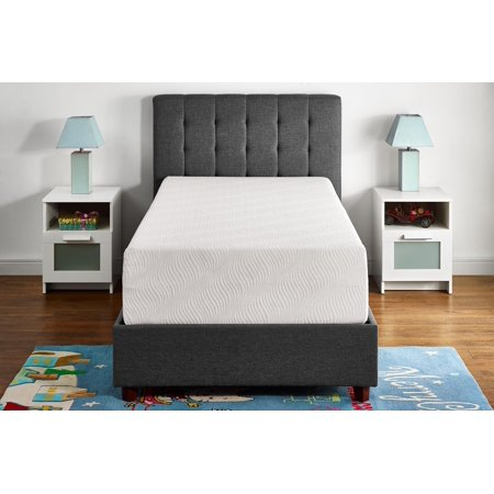 "Mainstays 12"" Memory Foam Mattress, Multiple Sizes - Twin"