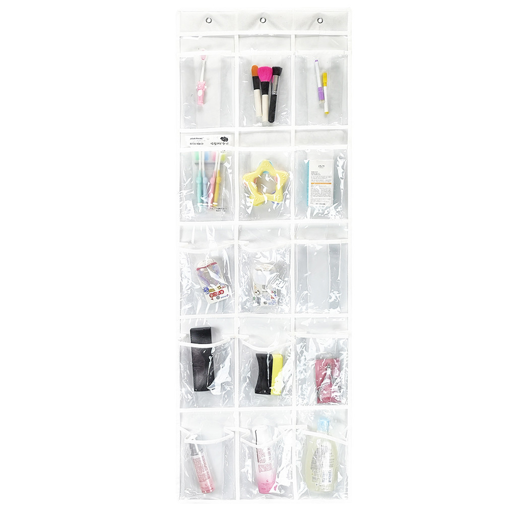 Pantry Door Organizer Walmart: Over The Door Hanging Pantry Organizer With 15 Crystal