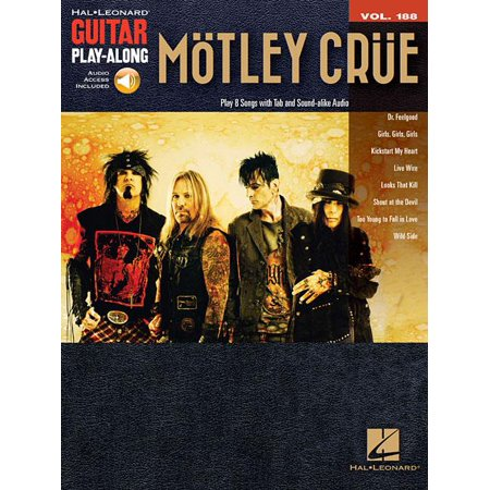 Motley Crue: Guitar Play-Along Volume 188 (Other)