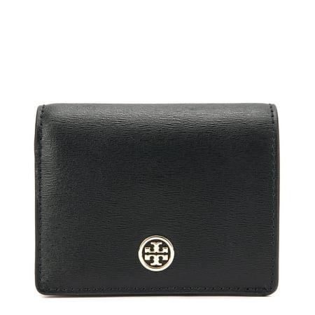 f51f7c417947 Tory Burch - Tory Burch Parker Foldable Mini Wallet 36986-001 Black ...