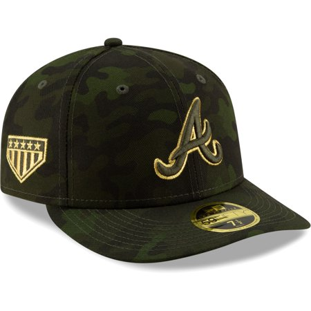 Atlanta Braves New Era 2019 MLB Armed Forces Day On-Field Low Profile 59FIFTY Fitted Hat -