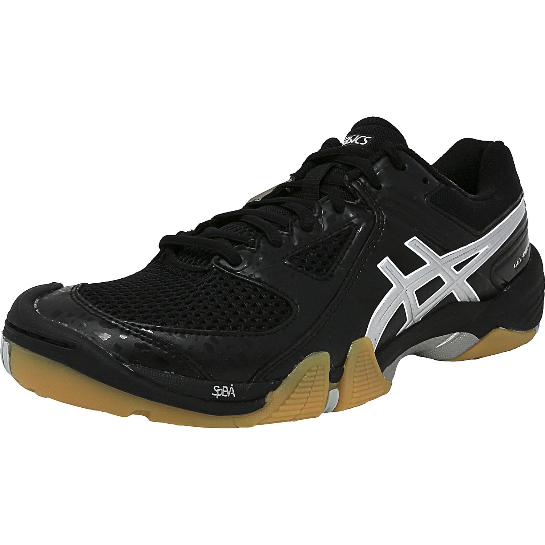 Asics Women's Gel-Dominion Black / Silver White Ankle-Hig...