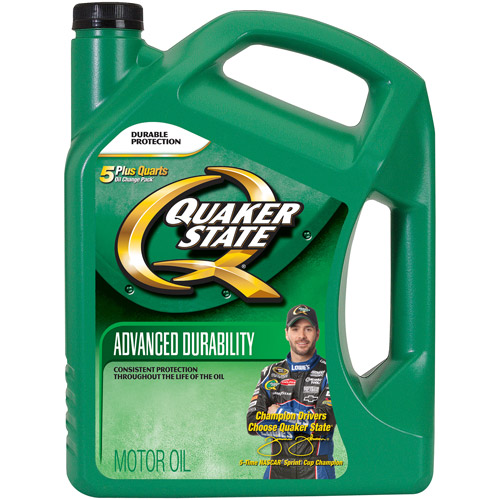 Quaker State 10W-40 Peak Performance Conventional Motor Oil, 5 qt.