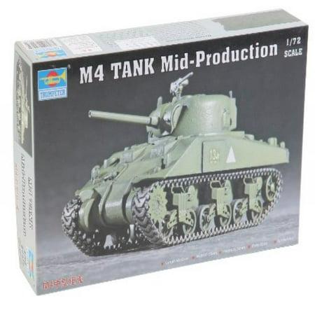 Trumpeter 1/72 US M4 Sherman Tank,