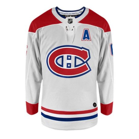 09 Away Jersey (Adidas Shea Weber Montreal Canadiens Authentic Away NHL Jersey)