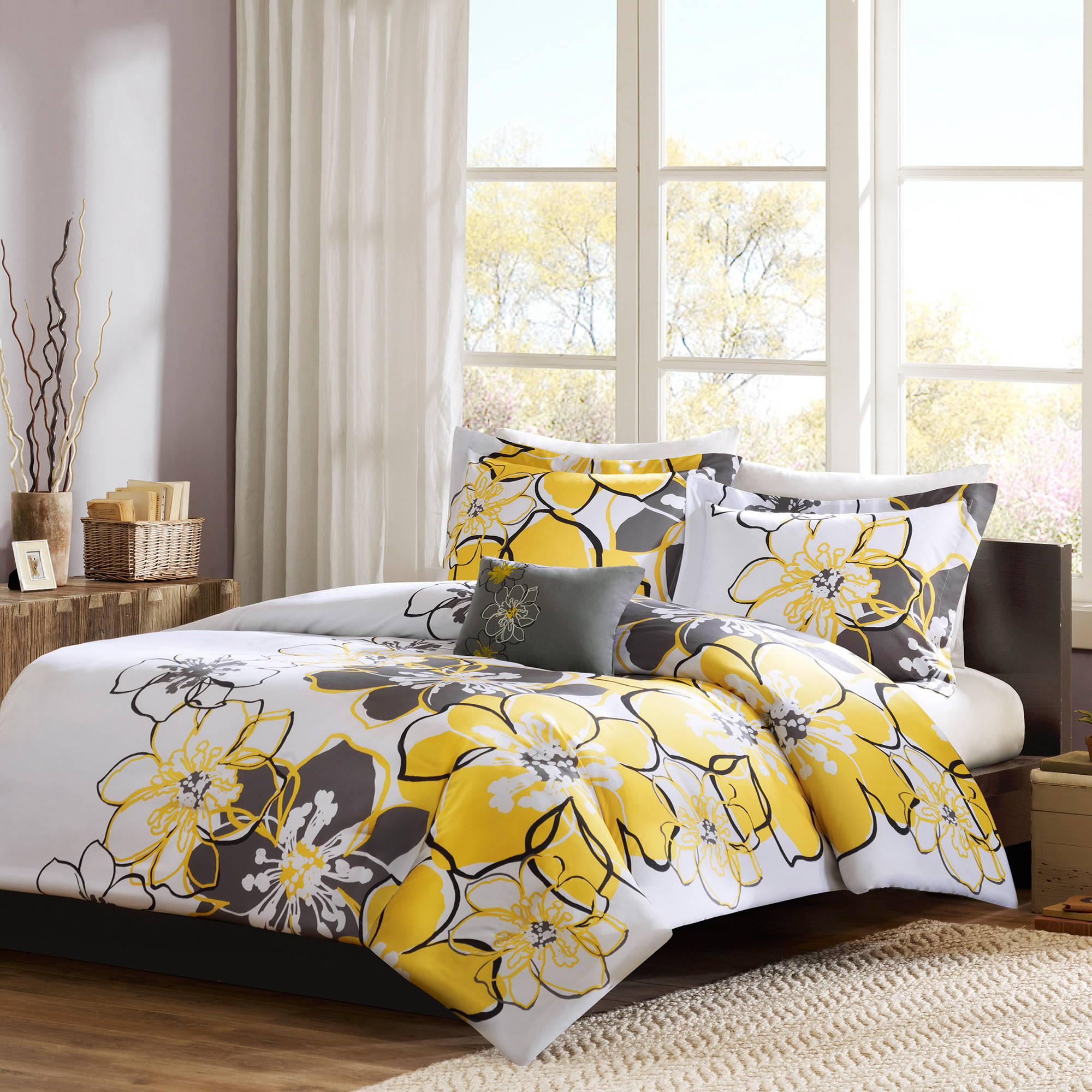 Home Essence Teen Kelly Printed Duvet Cover Bedding Set