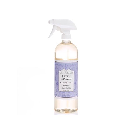Scentennials Linen Splash LAVENDER (32oz, 2-PACK) - A MUST HAVE for all your linens, laundry basket or just spray around the - Lavender Pure Spray