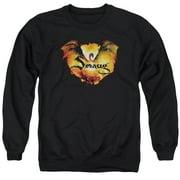 Hobbit Reign In Flame Mens Crewneck Sweatshirt