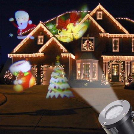 Halloween 12 Pattern Moving Laser Projector Landscape Stage Light Waterproof Xma D-light-factory - Moving Halloween Clip Art