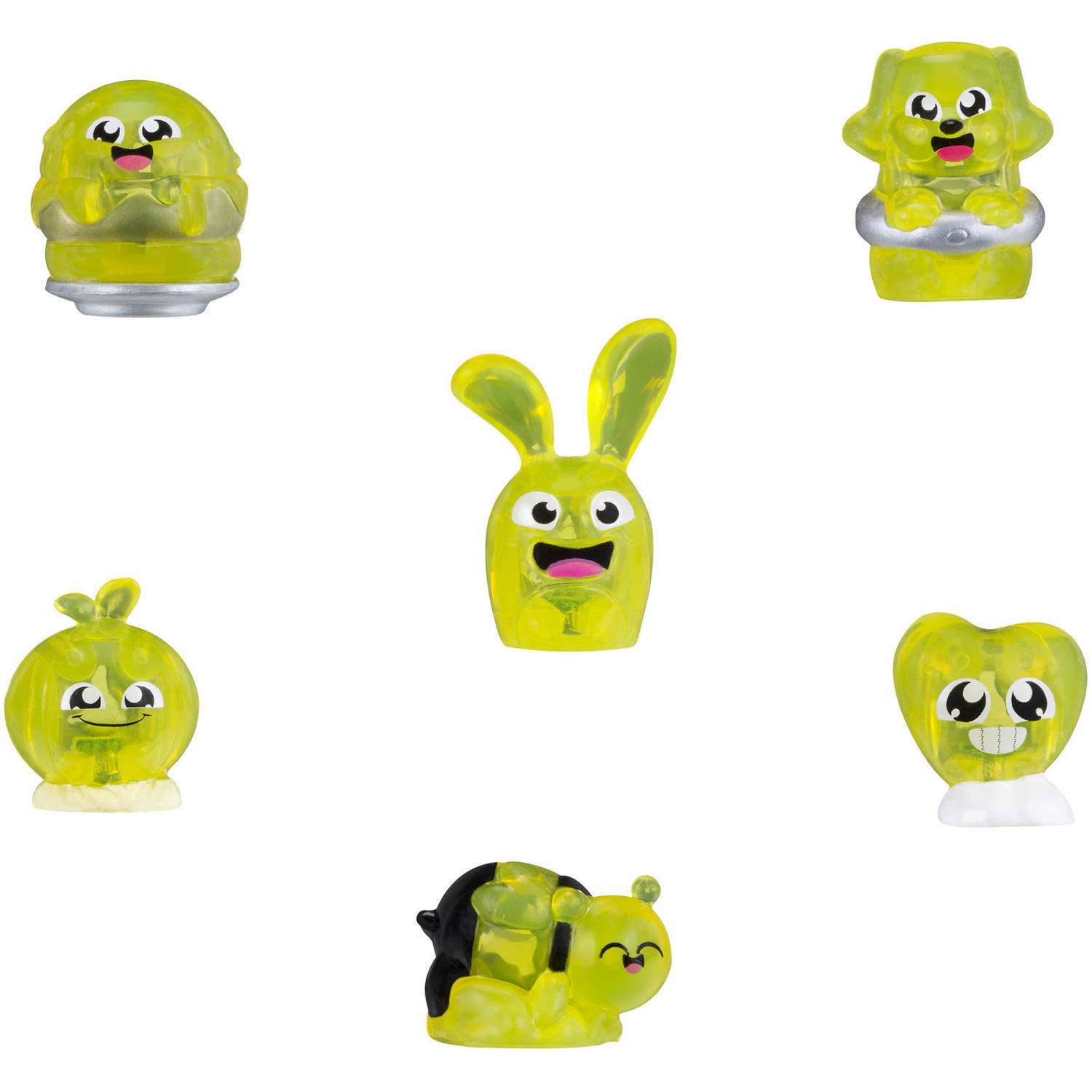 Hanazuki Treasure 6-Pack Yellow/Happy (Collection 1)