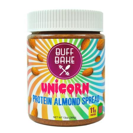 Buff Bake Unicorn Almond Butter 13 Ounce Jar (Best Way To Soften Butter Fast)