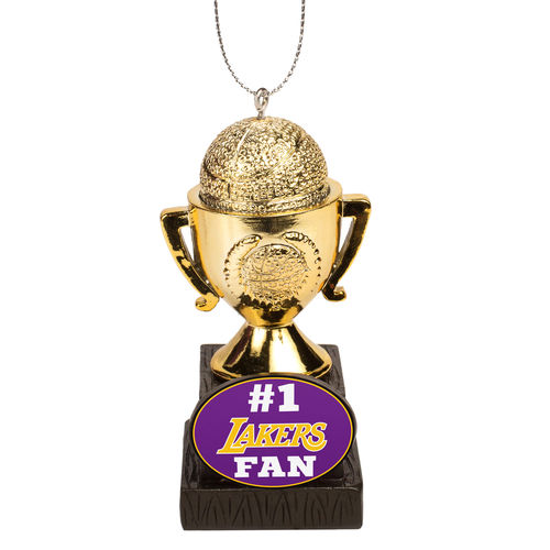 Los Angeles Lakers Trophy Ornament