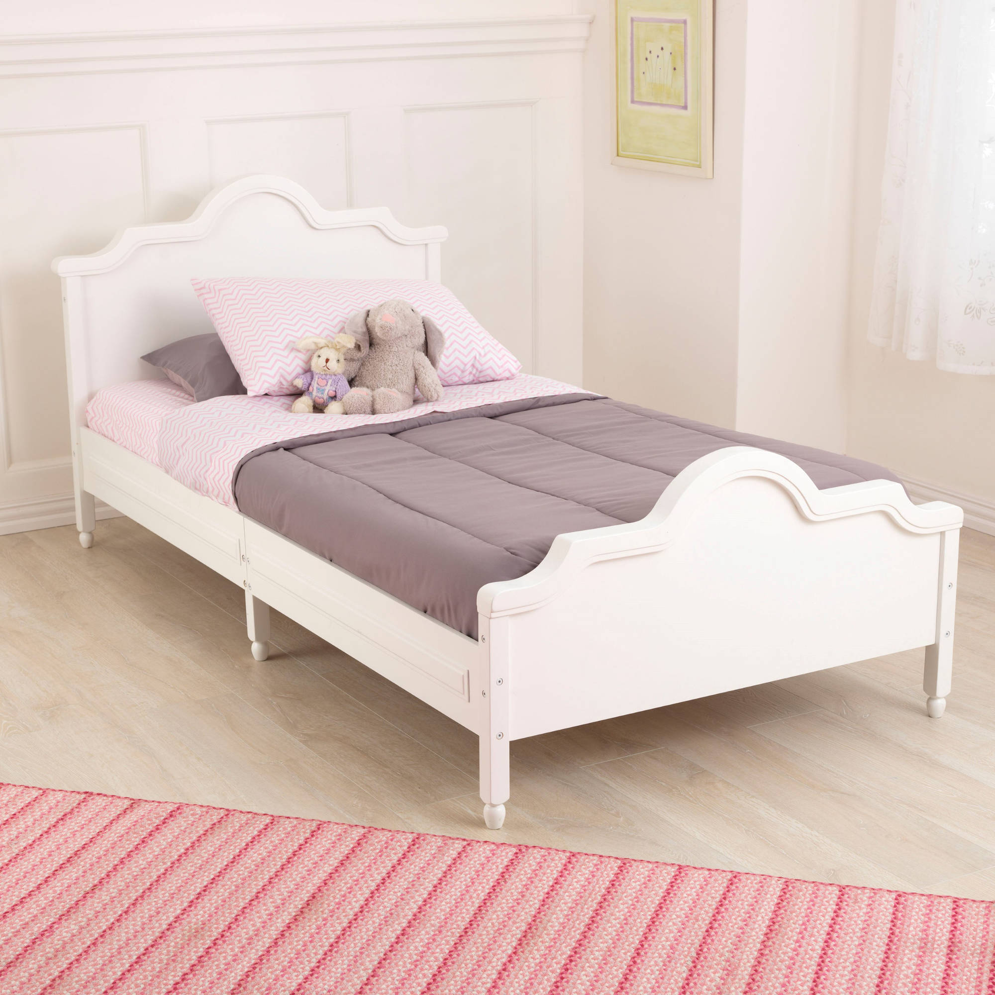 KidKraft Raleigh Twin Bed, White