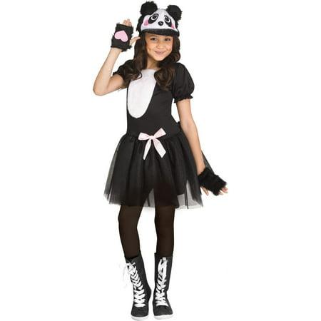 Pretty Halloween Costumes For Teenage Girls (Halloween Girl's Pretty Panda)