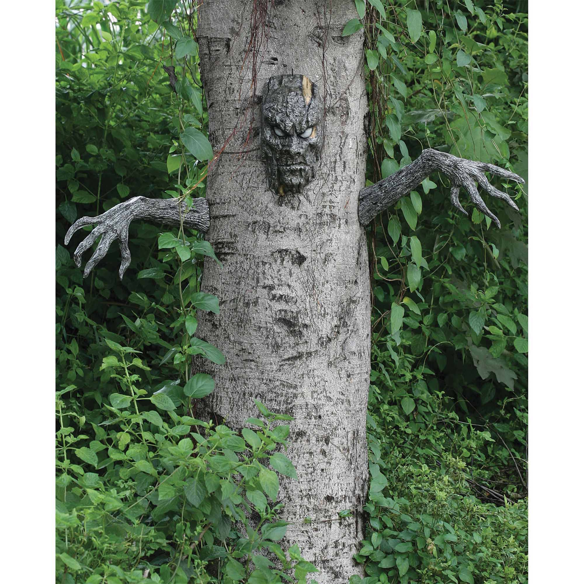 spooky living tree halloween decoration walmartcom - Spooky Halloween Decor