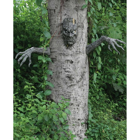 Spooky Living Tree Halloween - Easy Halloween Door Decorations