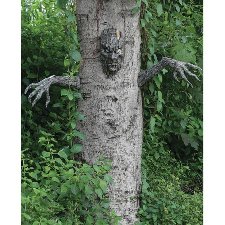 Spooky Living Tree Halloween Decoration - Different Halloween Decorations
