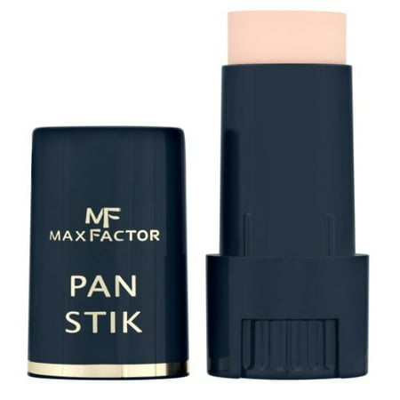 Makeup Stick Foundation (Max Factor Panstik Foundation - 25 Fair + Makeup Blender Stick, 12 Pcs )