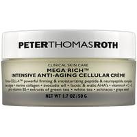 ($65 Value) Peter Thomas Roth Mega Rich Intensive Anti-Aging Cellular Creme, 1.7 Oz
