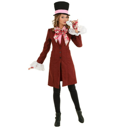 Deluxe Plus Size Women's Mad Hatter Costume](Plus Size Mad Hatter Costumes)